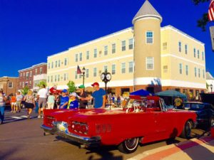 Perkasie Community car show